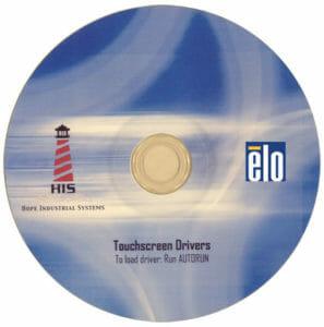 CD del driver per touchscreen Elo