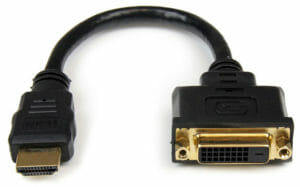 Un semplice adattatore da HDMI a DVI di StarTech.com