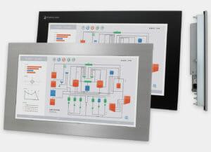 Monitor e touchscreen industriale da 19,5