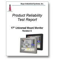 Copertina del rapporto con i risultati dei test IEC
