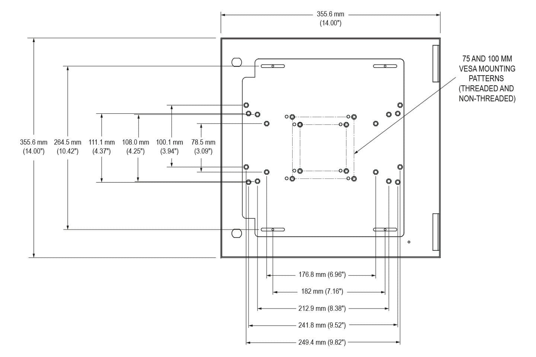 Piastra di montaggio interna per enclosure per thin client e piccoli PC di Hope Industrial