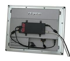 KVM mounted on ML20 using the VESA Adapter Bracket