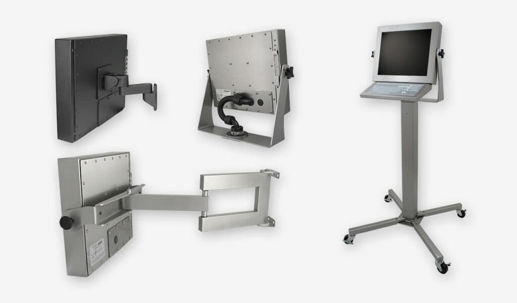 Opzioni di montaggio per monitor per montaggio universale