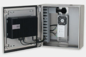 Enclosure con Dell Box PC 3000
