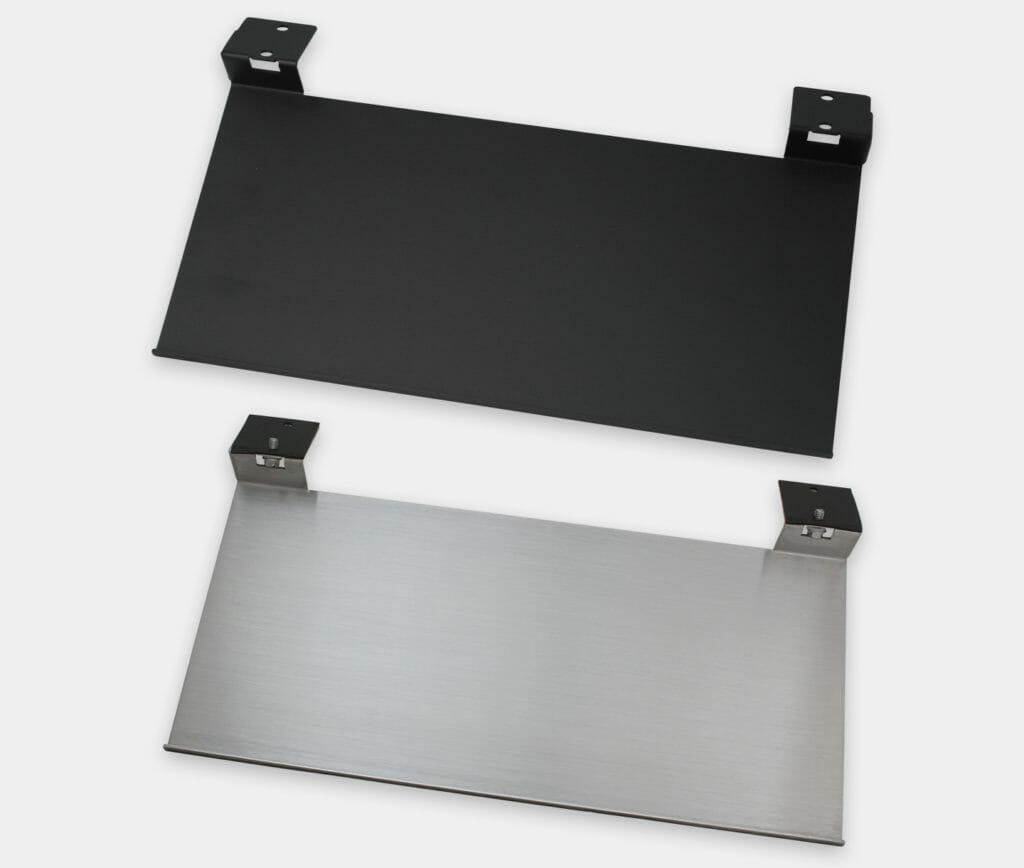 Ripiano per tastiere industriali da utilizzare con monitor per montaggio universale