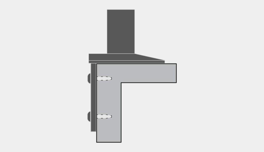 Montaggio laterale opzione