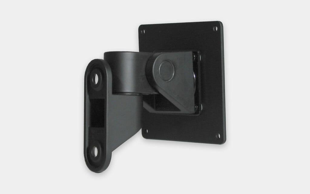 Staffa per montaggio a parete VESA per monitor industriali, veduta posteriore della staffa