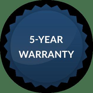 Badge della garanzia di 4 anni di Hope Industrial Systems